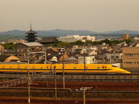 ドクターイエロー 東海道新幹線京都~新大阪