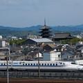 写真: N700系のぞみ 東海道新幹線京都~新大阪01