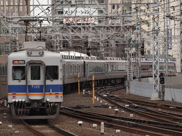南海7100系特急サザン  南海本線難波駅01