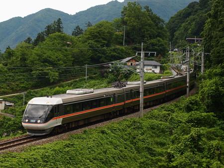 383系特急しなの 篠ノ井線姨捨~稲荷山04