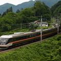 写真: 383系特急しなの 篠ノ井線姨捨~稲荷山04