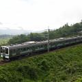 写真: 211系普通 篠ノ井線姨捨~稲荷山03