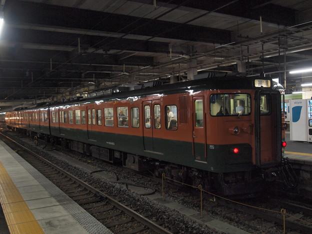 写真: 115系普通 信越本線長野駅02