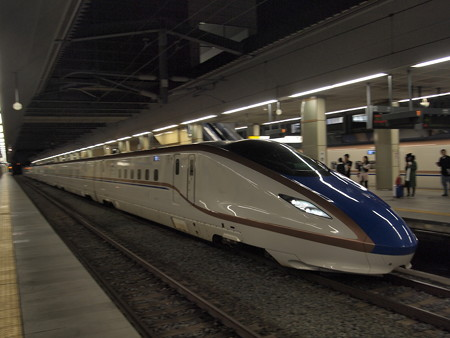 E7系かがやき 北陸新幹線長野駅01