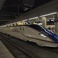 写真: E7系かがやき 北陸新幹線長野駅01