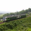 写真: HB-E300リゾートビューふるさと  篠ノ井線姨捨~稲荷山02