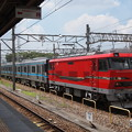 写真: EL120 名市交3000系甲種 名鉄常滑線大江駅05