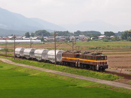 三岐鉄道ED45形貨物 三岐線三里~丹生川02