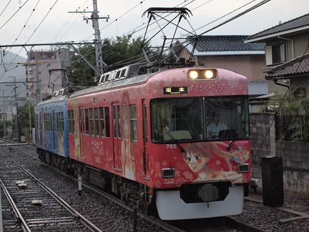京阪700形  京阪石山坂本線近江神宮駅03