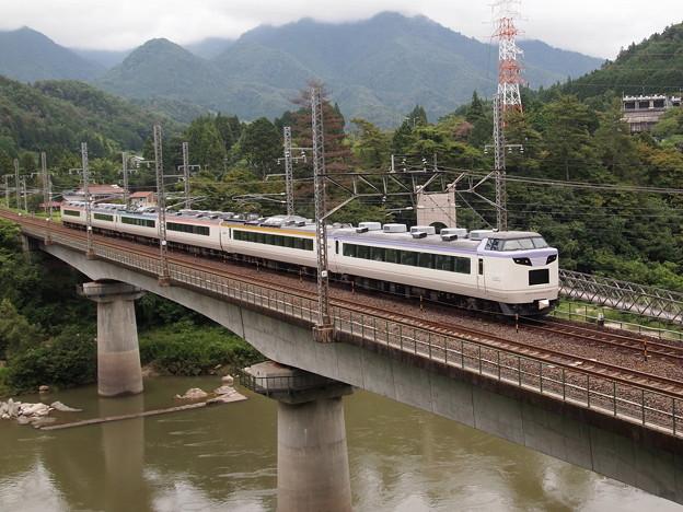 485系いろどり木曽路号 中央本線田立~坂下01