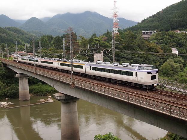485系いろどり木曽路号 中央本線田立~坂下02