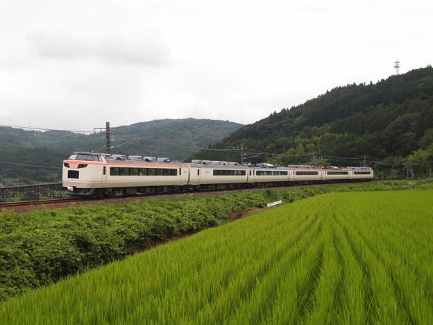 485系いろどり木曽路号 中央本線落合川~坂下01