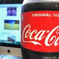 写真: Coca-Cola & Mac ~打ち上げ花火、下から見るか?横から見るか?記事作成【アニメ映画本日公開記念】