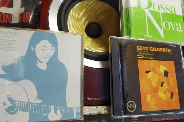 Photos: Bossa Nova x3 ~暑い夏に似合った涼しげな風~小野リサ, Getz/Gilberto, OmnibusをB&W♪