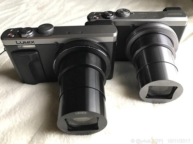 TZ85(New)←TZ60(3years)~伸びる30倍ズーム時~同じレンズ~Telephoto lens