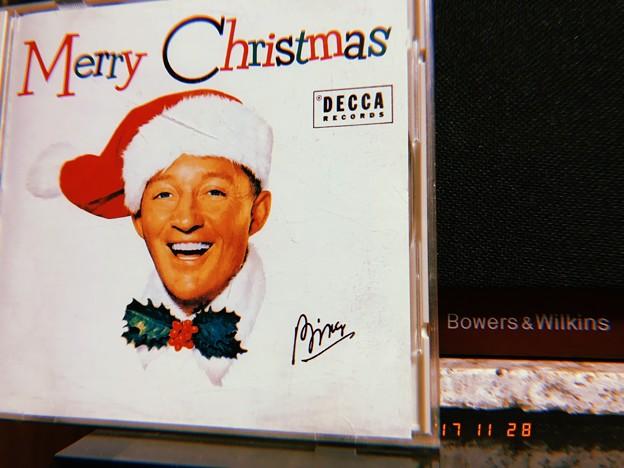 Bing Crosby → Bowers&Wilkins♪Merry Christmas~ヴィンテージにフィルム風