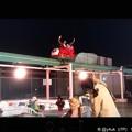 Photos: 夜空を飛ぶテントウムシ~Xmasの屋上[監獄のお姫さま]感動