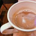 Photos: 19:13 cocoa Hot Chocolate~旅夜暖かい飲み物に心も暖かい~隣も孤独~きみが心に棲みついた