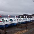 写真: 十和田湖 白鳥艦隊