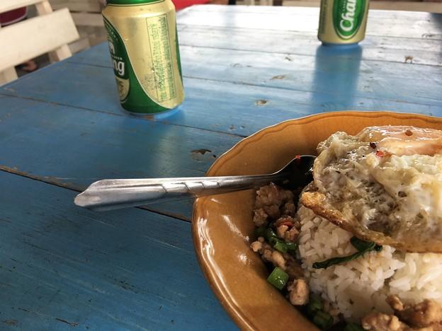 昼飯のタイ飯 (4)