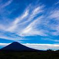 絹雲漂う朝