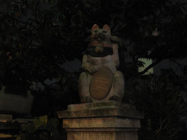 自性院(猫寺)の招き猫