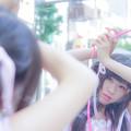 写真: 魔法少女-決めポーズ練習中-