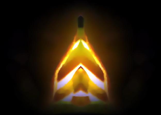 写真: 2101年宇宙の旅_takeoff of spaceship-01a