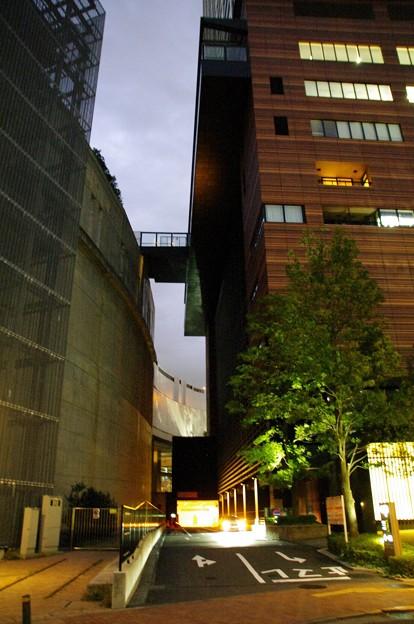 大橋ジャンクションとクロスエアタワー