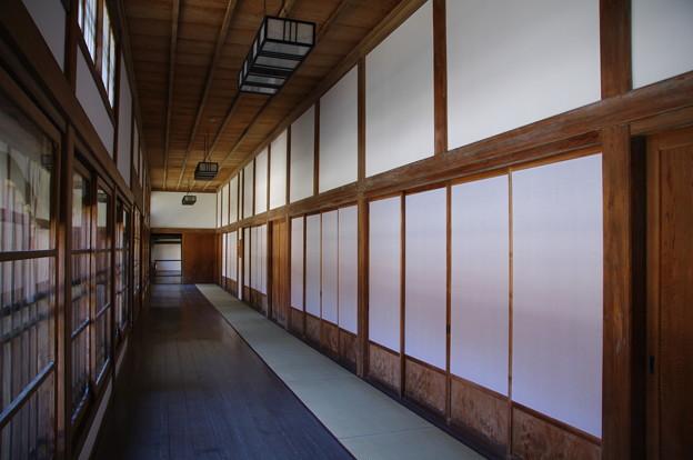 最乗寺の廊下