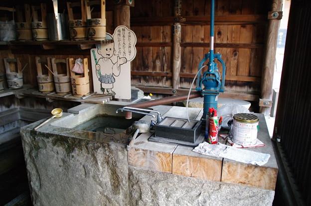 本覺寺の井戸