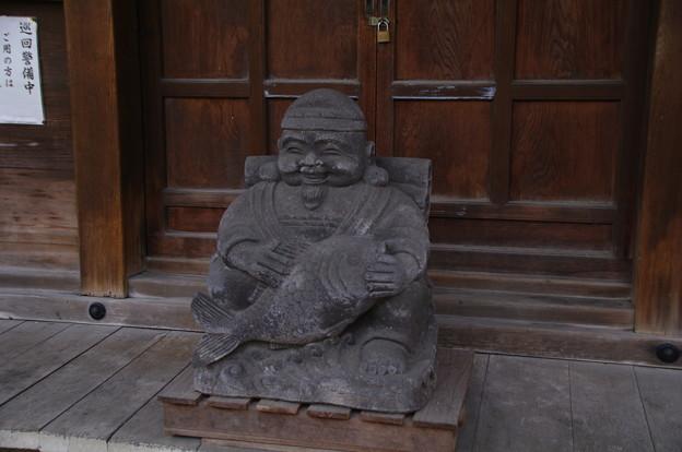 瀧泉寺三福寿の恵比寿様