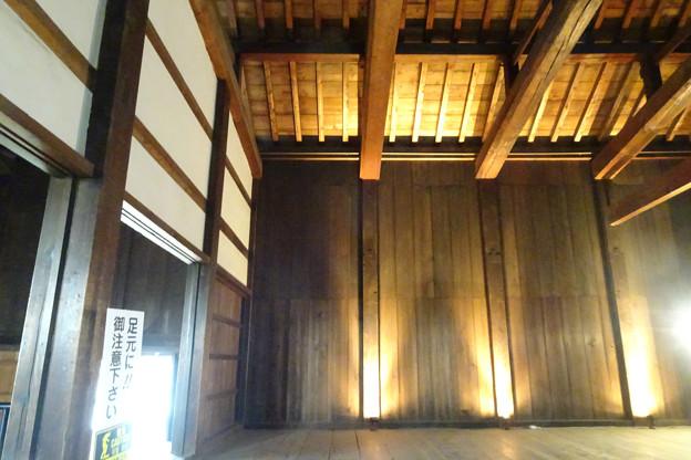 多聞櫓の内部