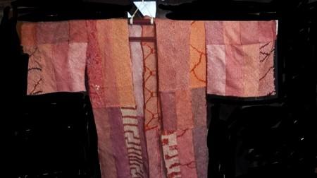 羽織袖口布の継ぎ接ぎ