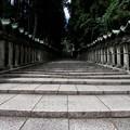 写真: 石畳の参道:宝山寺02