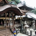 本堂と拝殿:宝山寺10