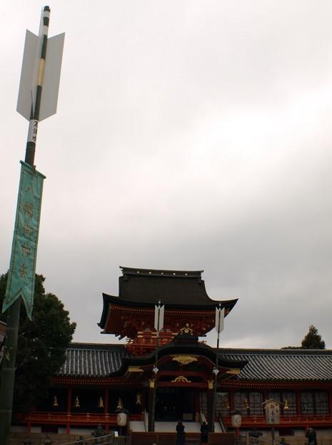 暗雲跳ね除ける:石清水八幡宮02