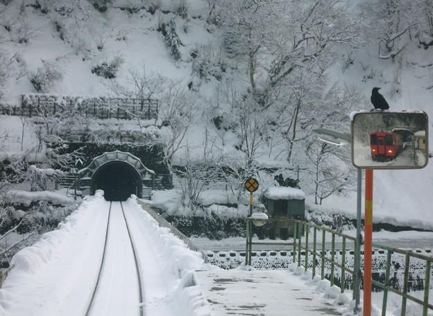 雪国ローカル線06