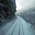 写真: 雪国ローカル線04