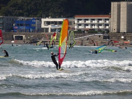 ウインドサーフィン~逗子海岸