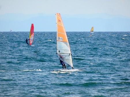 ウインドサーフィン~材木座海岸