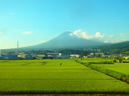 車窓富士山~2017-08-09 WED