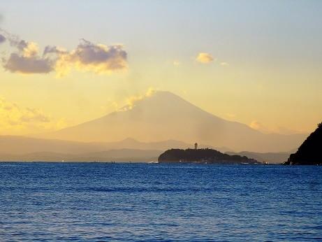 富士山~逗子海岸