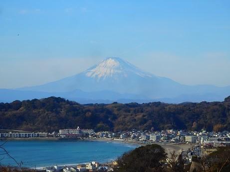 鎌倉の富士山