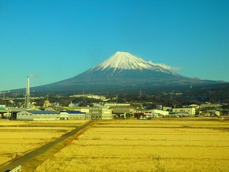 車窓富士山 2018-01-11 THU