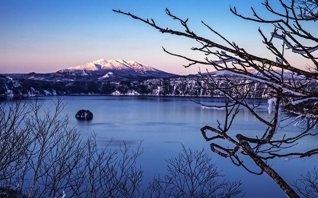 Photos: 北海道摩周湖暮色