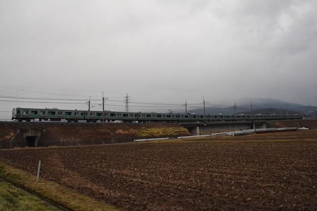 E231系松戸車長野入場