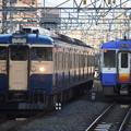 Photos: 115系横須賀色とキハ110飯山色並び