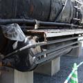Photos: D51 10号機 空気タンク、圧縮空気冷却管