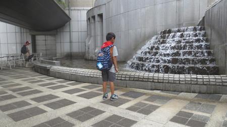 世田谷美術館の噴水